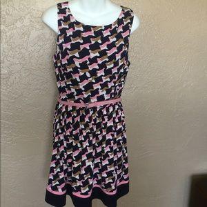 J. Howard Modern Print Dress 14
